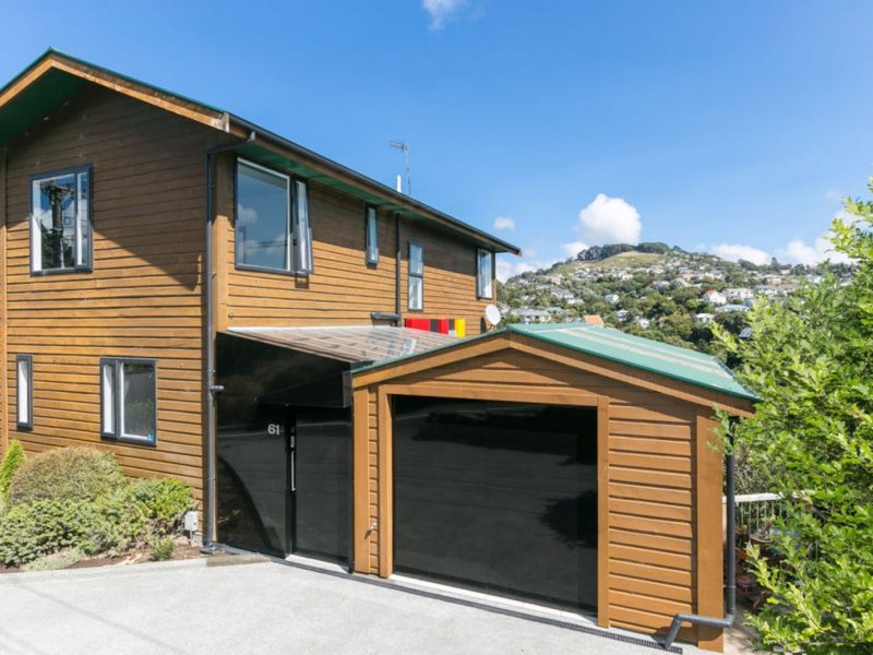 SUN, VIEWS, POTENTIAL INCOME – 61 Old Porirua Road, Ngaio
